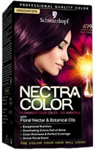 Фиолетовая краска для волос стойкая